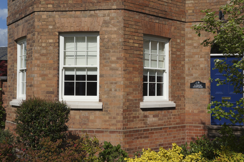 Knowles warwickshire side view sash window