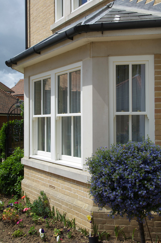 bay window conventional slim box sash