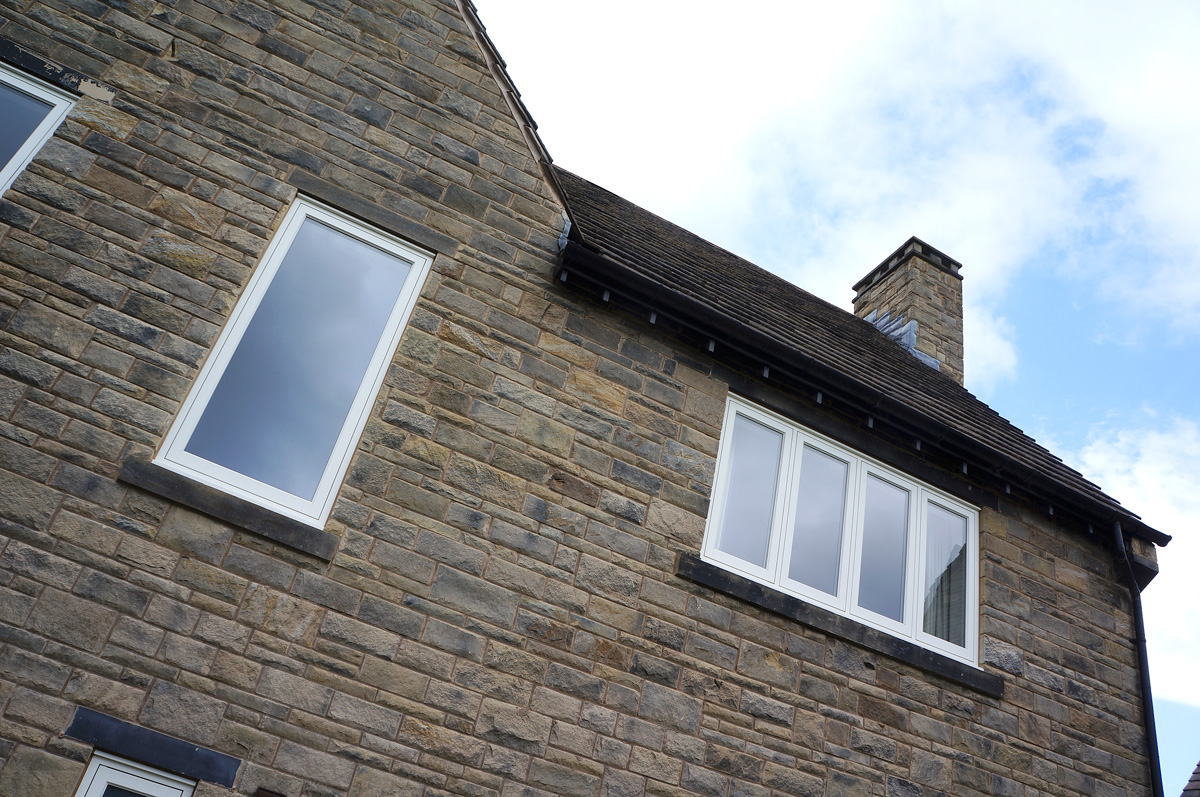 contemporary flush casement window single four
