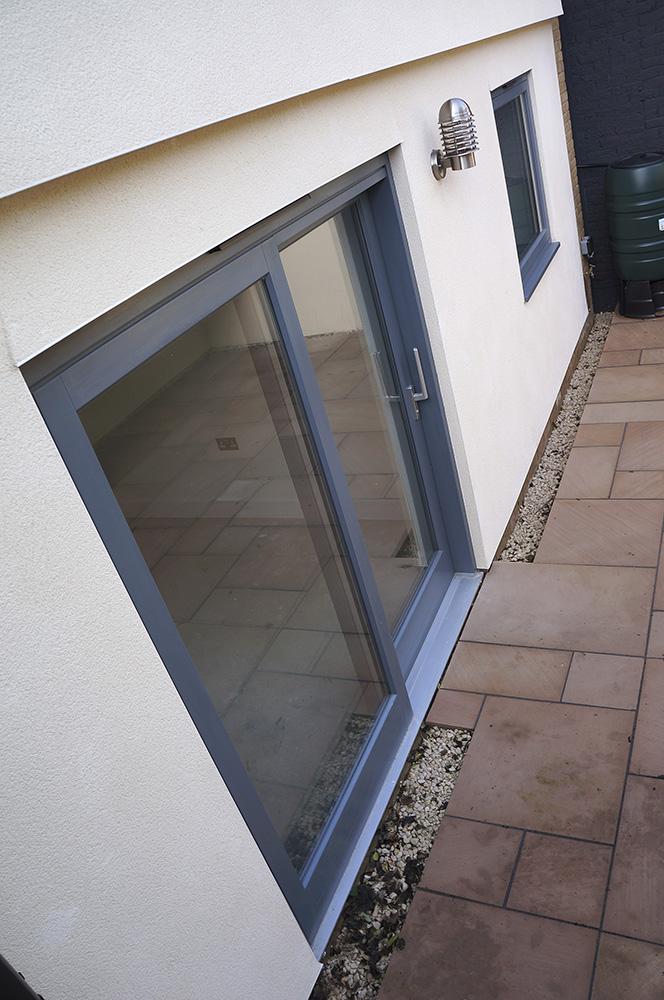 contemporary sliding patio doors timber open