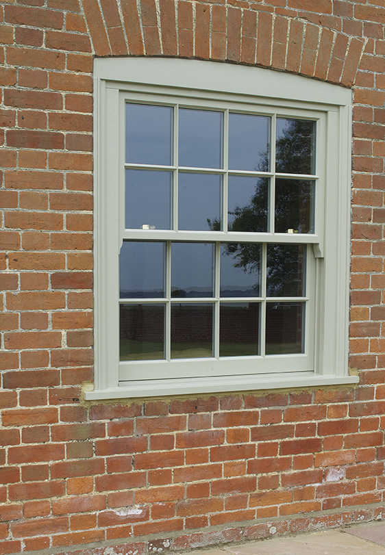 hidden spring box sash window french grey
