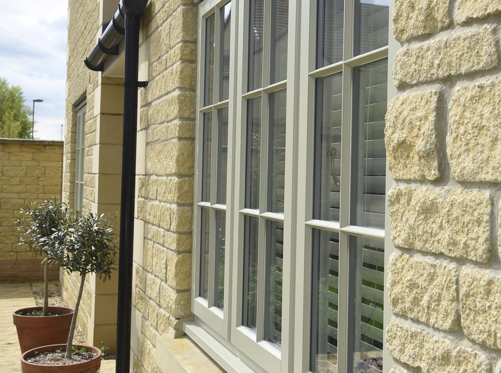 Timber Wooden casement windows Leamington Spa
