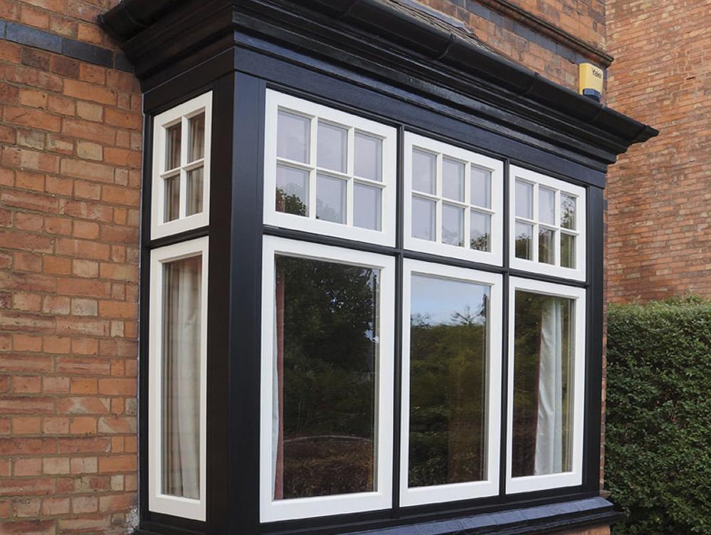 deco timber bay windows Leamington Spa, Warwickshire