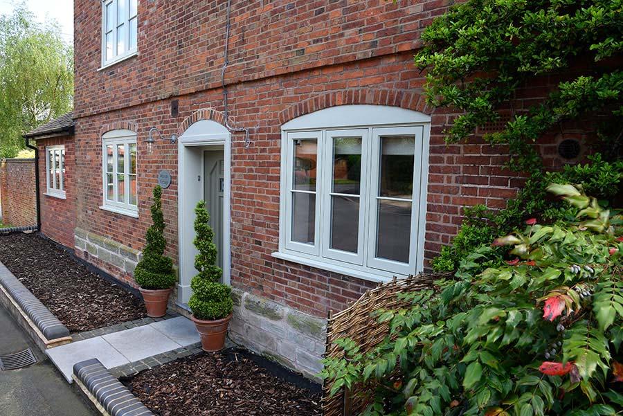 timber casement windows Leamington Spa